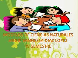 MODELOS DE CIENCIAS NATURALES
