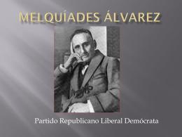Melquíades álvarez - Park Languages US