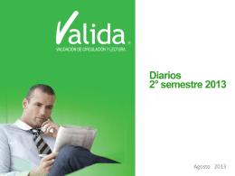 Valida 2013 Segundo Semestre Diarios