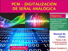 Cuantificación - control digital