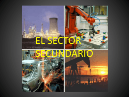 SECTOR SECUNDARIO POWER