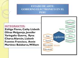 presentacion gobierno electronico