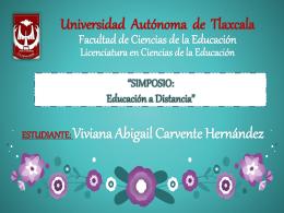 SIMPOSIO: Educación a Distancia