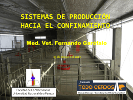Sistemas de producción hacia el confinamiento