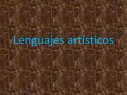 Lenguajes Artísticos - Liceo Bicentenario Luis Alberto Barrera