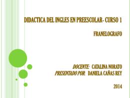 catalina norato presentado por: daniela cañas rey 2014