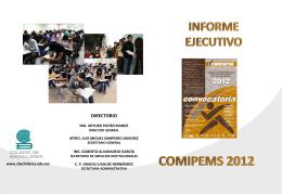 Informe_ejecutivo_COMIPEMS_2012