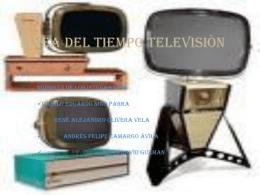 LINEA DEL TIEMPO TELEVICION