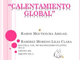 Ramos Moctezuma Abigail Ramírez Moreno Lilia Clara ESCUELA