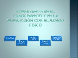 Competencia en el conocimiento y en la interacción con el mundo