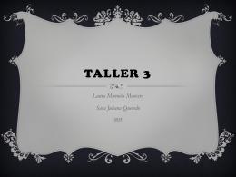 Taller 3 (2004940)