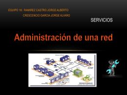 Administración de una red - REDES