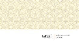 Tarea 1 - WordPress.com
