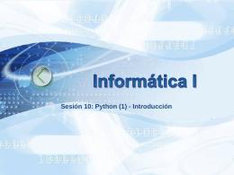 10_Python(1) - Universidad de Antioquia