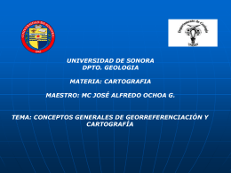 CARTOGRAFIA1-1 - Universidad de Sonora