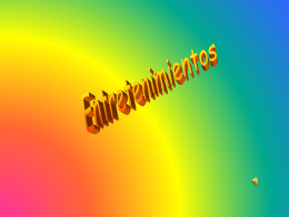 Entretenimientos