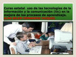 Curso estatal uso de las tecnologías de la información y la