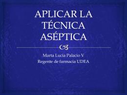 APLICAR LA TÉCNICA ASÉPTICA (129355