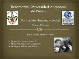 Benemérita Universidad Autónoma de Puebla - FHS-FCE