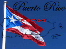 Puerto Rico - Period 6~ Tuesday, Thursday