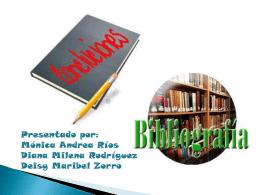 bibliografia expo.