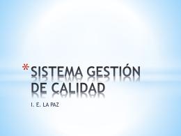 Presentacion GCO SGC La Paz 11