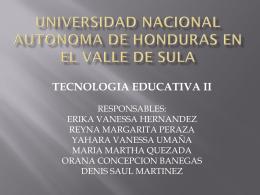 universidad nacional autonoma de honduras en el valle