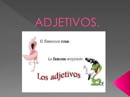ADJETIVOS (176739) - Deyanira Velázquez Alvarado