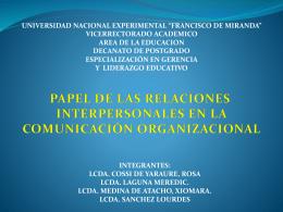 presentacion modificada - Gerencia y Comunicación