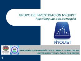 Curso - Blog - Universidad Tecnológica de Pereira