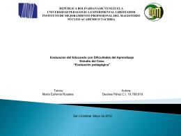 Diapositiva 1 - especialistasclavesenlaeducacion