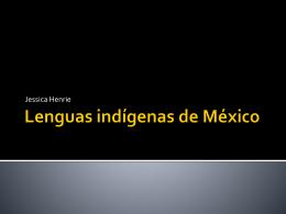 Idiomas indígenas de México