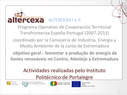 Slide 1 - Altercexa
