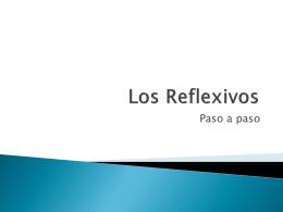 Los Reflexivos - Spanish