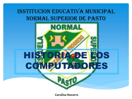 institucion educativa municipal normal superior de pasto