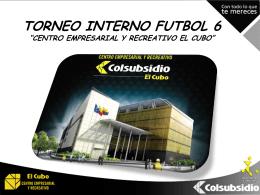 boletin n°1. - Torneo interno El CUBO
