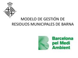 Modelo gestion municipal residuos.