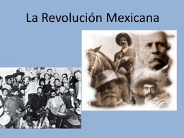 Presentación Revolución