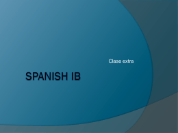 Spanish IB - FiestaWiki