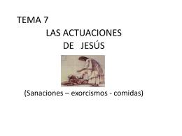 Las Comidas de Jesús