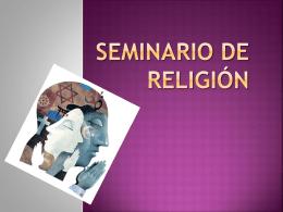 Seminario de religión!!!!! (303104)