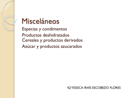 Misceláneos - FCQ-MicrodeAlimentos