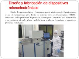 Diseño y fabricación de dispositivos microelectrónicos 1