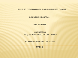 Diapositiva 1 - yazmisistemas