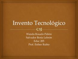 Invento Tecnológico