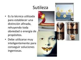 Sutileza