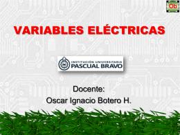 variables eléctricas, notación científica y código de - san-rafael-ob