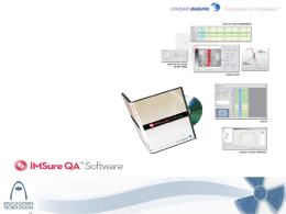 IMSure para QA de IMRT