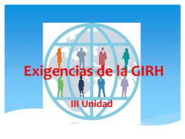 III GIRH