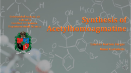 Synthesis_of_Acetylh.. - Facultad de Ciencias